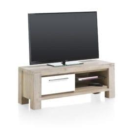 szafka pod telewizor drewniana